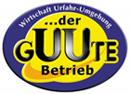 Logo GUUTE, Aufschrift der Guute Betrieb der Wirtschaft Urfahr-Umgebung