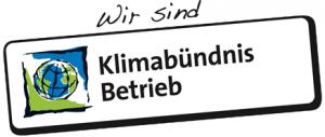 Logo Wir sind Klimabündnis Betrieb