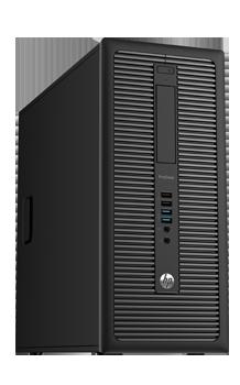 Micro Tower Computer schwarz