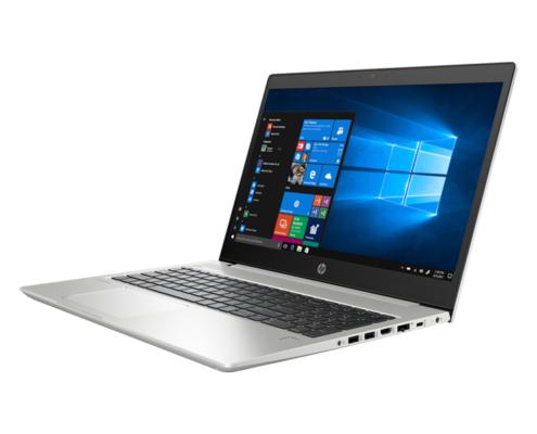 HP Probook 450 G6 Notebook seitlich aufgeklappt