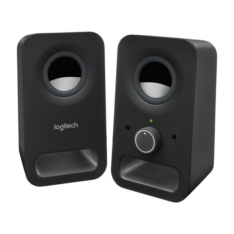 Logitech Z150 PC Lautsprecher schwarz