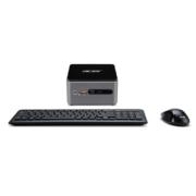 Acer Revo Cube Pro VEN76G mini PC schwarz silber mit Maus und Tastatur
