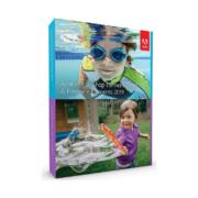 Schachtel der Software Adobe Photoshop Elements 2019 und Premiere Elements 2019