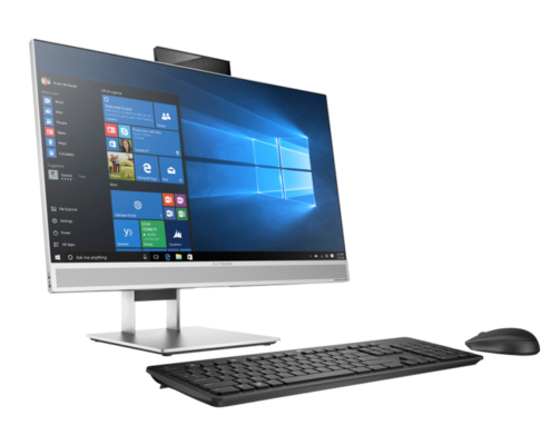 HP Elite 800 G4 All-in-One PC vorne links seitlich