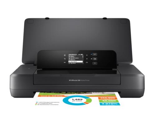 HP Officejet 200 Mobile Drucker von vorne