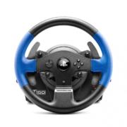 Thrustmaster T150 ForceFeedback Spiele Lenkrad blau schwarz