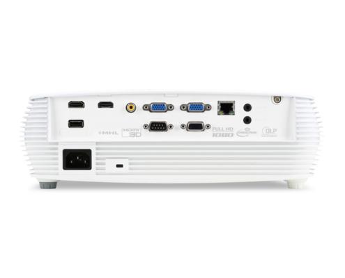Acer P5530 DLP-Projektor Anschlüsse hinten
