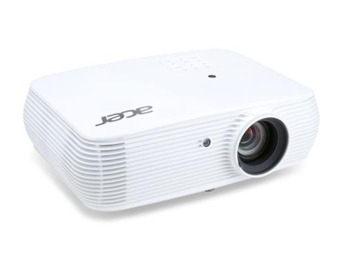 Acer P5530 DLP-Projektor weiss seitlich