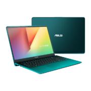 ASUS VivoBook S15 S530FN-BQ367T firmament green vorne seitlich und hinten