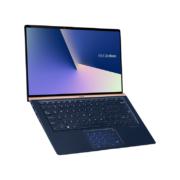 ASUS Zenbook 13 UX333FA-A4011T dunkelblaues Notebook aufgeklappt