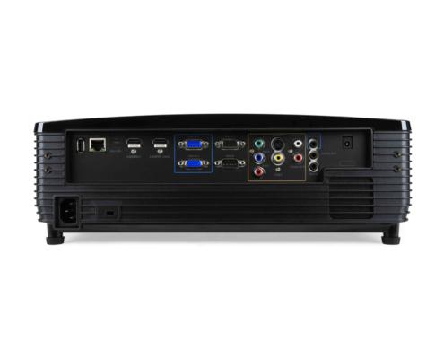 Acer P6500 DLP-Projektor Anschlüsse hinten