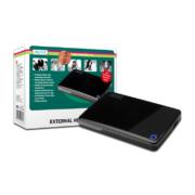 Digitus Externes HDD Gehäuse 2.5 USB 3.0 glänzend schwarz