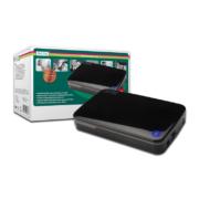 Digitus Externes HDD Gehäuse 3.5 USB 3.0 glänzend schwarz