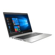 HP ProBook 455 G6 silber Notebook seitlich vorne