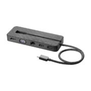 HP USB-C Mini-Dockingstation usb C mit Anschluessen