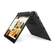 Notebook Lenovo ThinkPad Yoga X380 schwarz im Zeltmodus