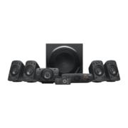Logitech Surround Sound Speaker System Z906 Subwoofer und 5 satelliten boxen
