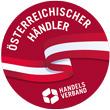 Siegel Österreichischer Händler Handelsverband roter Kreis weisse Schrift