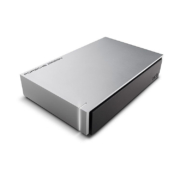 LaCie Porsche Design Desktop Festplatte 4TB seitlich
