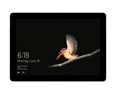 Microsoft Surface Go front