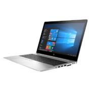 HP EliteBook 755 G5 von rechts silber mit Anschlüssen aufgeklappt