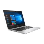 HP Elitebook 830 G6 Notebook 13 zoll silber von links aufgeklappt
