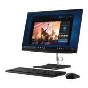 Lenovo ThinkCentre V540-24IWL Touch All-in-One PC mit Maus und Tastatur