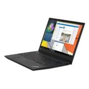 Lenovo ThinkPad E595 Notebook schwarz von rechts