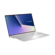 ASUS Zenbook 14 UX433FA-A5188R von vorne rechts aufgeklappt hellsilber