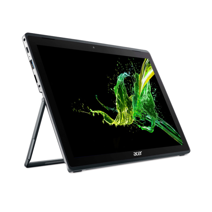 Acer Switch 3 Pro SW312-31-P16H Tablet links aufgestellt