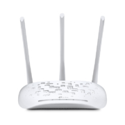TP-Link TL-WA901ND, 450Mbit/s-WLAN-Accesspoint weiss mit drei antennen