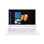Acer ConceptD 7 CN715 15 zoll notebook weiss mit orange beleuchteter tastatur