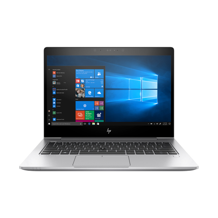HP EliteBook 735 G5 notebook silber frontal