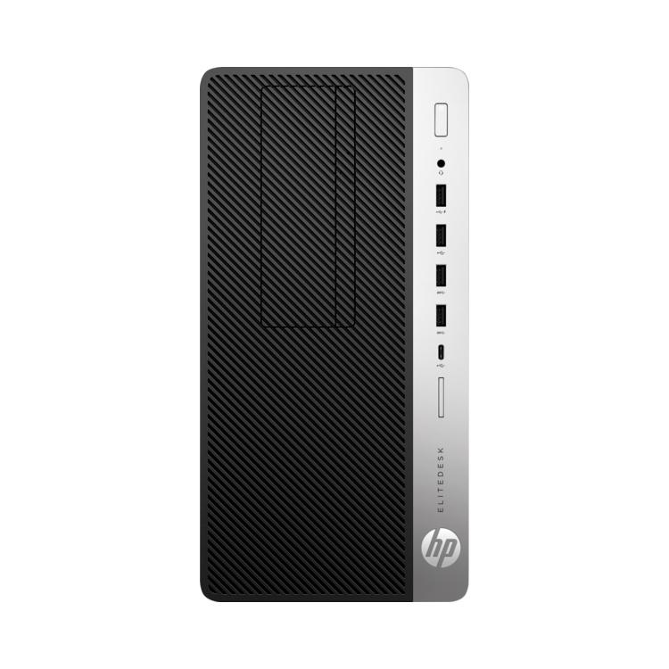 Tower PC HP Elitedesk 705 G4 MT schwarz silber