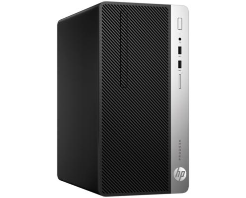 Tower PC HP ProDesk 400 G6 MT schwarz silber