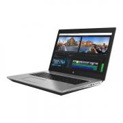 HP Zbook 17 G5 seitlich rechte seite silber mit videoschnitt software am bildschirm