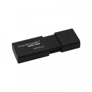 schwarzer USB Stick Kingston DataTraveler 100 G3 128GB