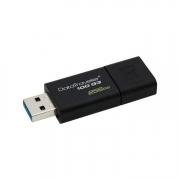 schwarzer USB Stick Kingston DataTraveler 100 G3 256GB
