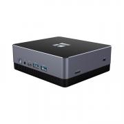 Trekstor WBX5005 Mini-PC dunkelsilber schwarz