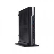 Acer Veriton N6660G kleiner 1 Liter PC schwarz mit silber streifen vorne vertikal