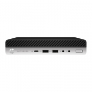 HP EliteDesk 705 G4 DM Desktop Mini PC schwarz silber