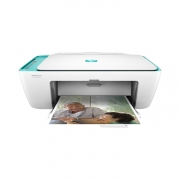 HP DeskJet 2632 weiss türkiser All-in-one Drucker Tinte