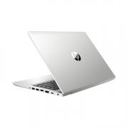 HP Probook 445R G6 von hinten seitlich silber