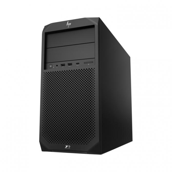 HP Workstation Z2 G4 schwarz seitlich