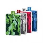 Seagate One Touch SSDs camouflage versch. Farben
