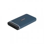 Transcend ESD350C Portable SSD 480GB blau