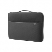 HP 14 Carry Sleeve schwarz silber