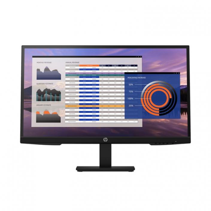 HP P27h G4 Office Monitor schwarz