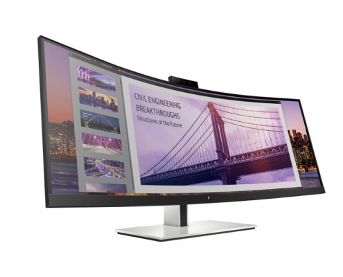 HP EliteDisplay S430c Curved Business Monitor