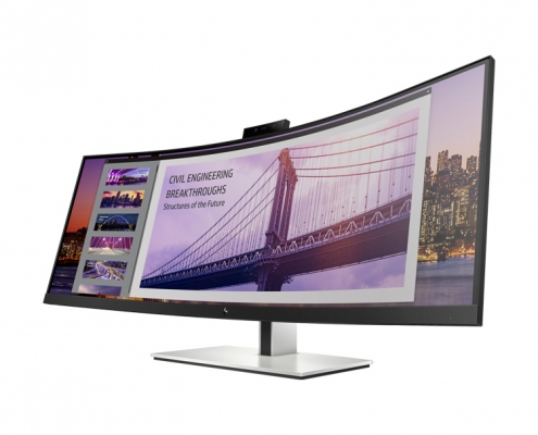 HP EliteDisplay S430c Curved Business Monitor mit webcam